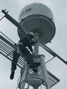 Ship Radar remove on hight