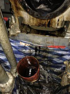 Generator engine overhauling