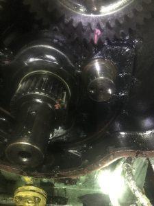 Generator engine crank shaft renew